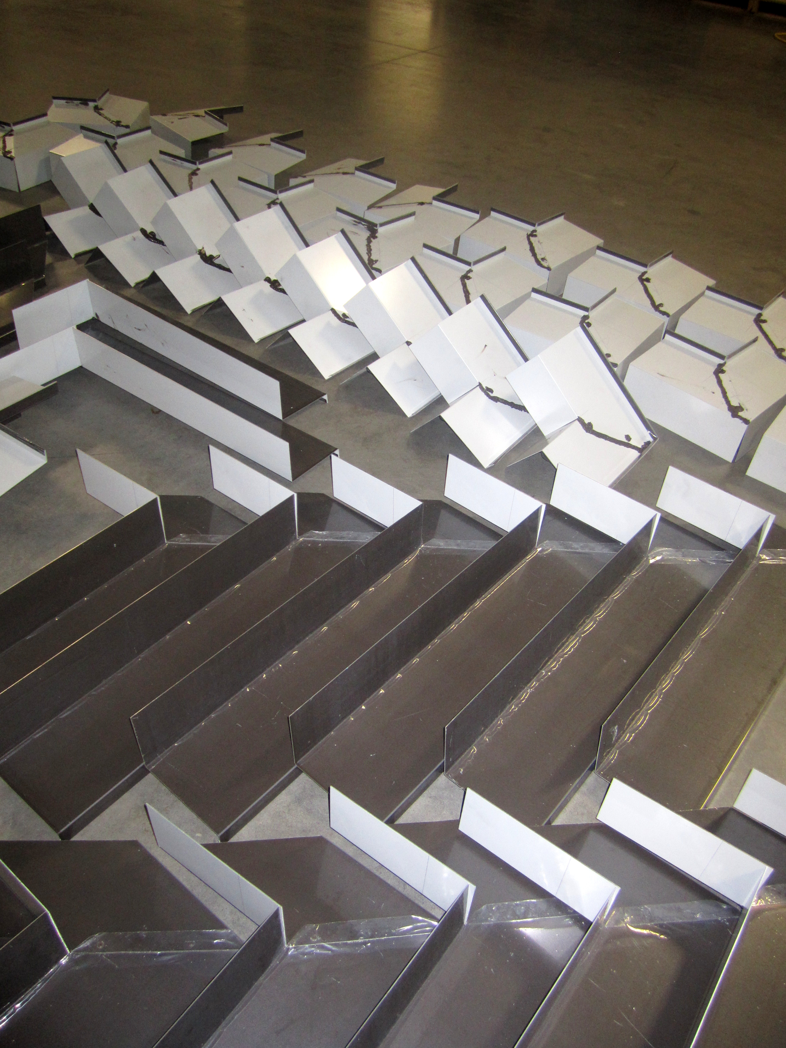 Custom Architectural Metal Wall Panels : Services architectural metal folding flashing