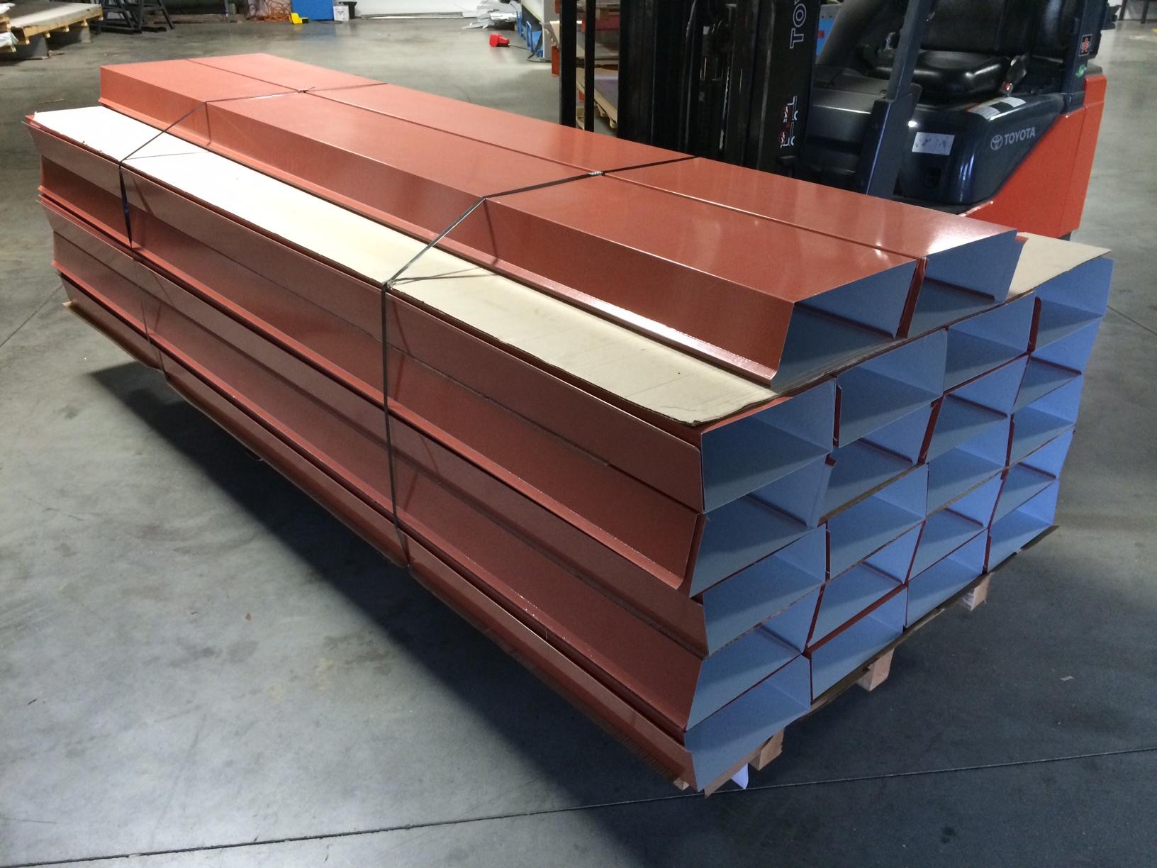 Services Architectural Metal Folding Metal Flashing