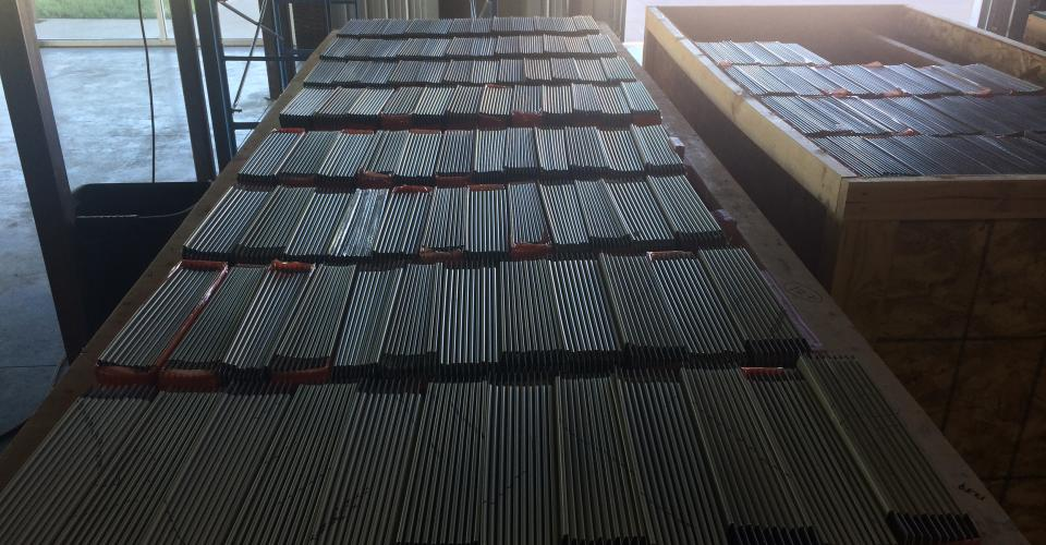 Aluminum Flat Lock Tiles
