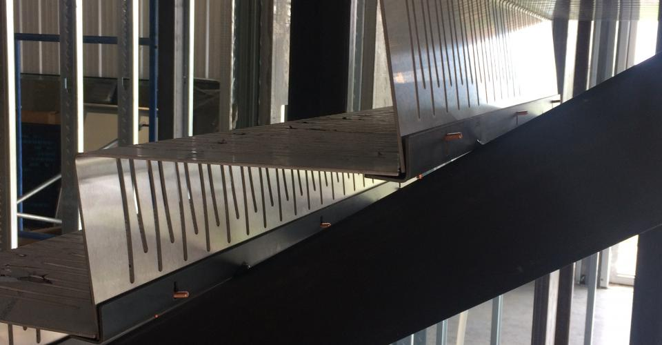 Custom Stainless Steel Stair Treads