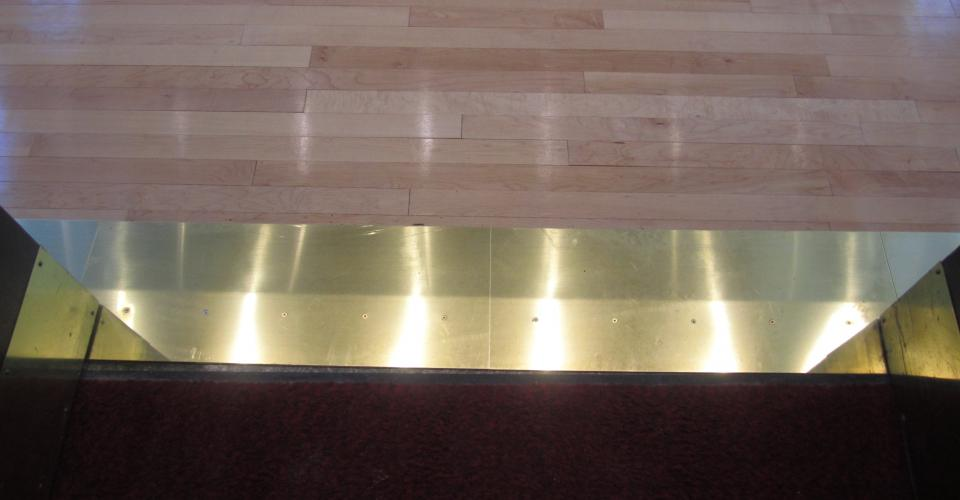 Brass Thresholds- Vets Memorial Cedar Rapids IA